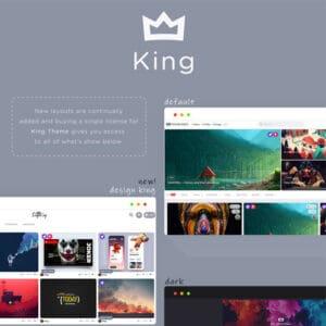 King – Viral Magazine WordPress Theme