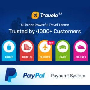 Travelo – Travel/Tour Booking Responsive WordPress Theme